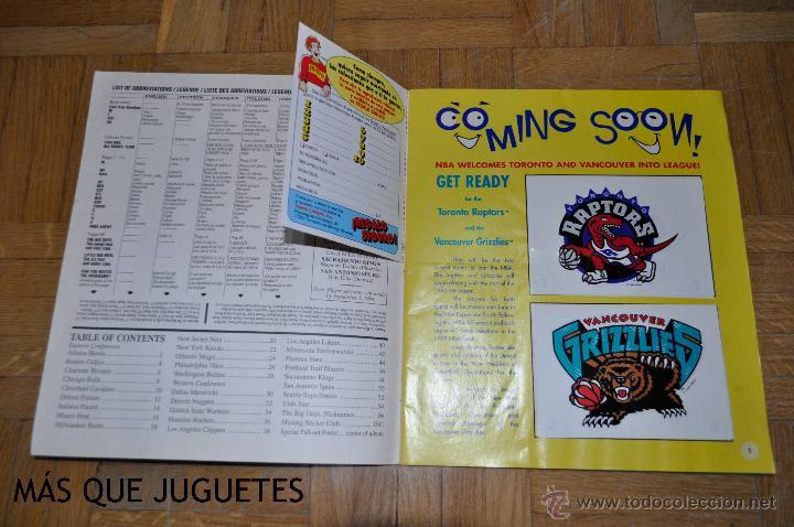 Coleccionismo deportivo: ÁLBUM BASKETBALL TEMPORADA 94-95. PANINI. FALTAN 33 CROMOS. - Foto 2 - 45631160