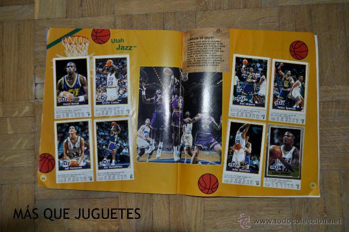 Coleccionismo deportivo: ÁLBUM BASKETBALL TEMPORADA 94-95. PANINI. FALTAN 33 CROMOS. - Foto 4 - 45631160