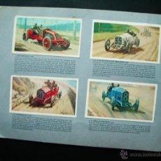 Coleccionismo deportivo: 1969-ALBUM CROMOS COCHES.STORY OF GRAND PRIX MOTOR RACING.COMPLETO.PERIODO 1906-1969.ORIGINAL.INGLÉS. Lote 45883669