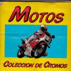 Coleccionismo deportivo: MOTOS. COLECCION CROMOS EDICIONES UNIDAS. MOTOR 16 180 CROMOS. INCOMPLETO. Lote 46117632