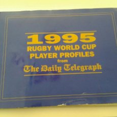 Coleccionismo deportivo: 1995 RUGBY WORLD CUP PLAYER PROFILES FROM THE DAILY TELEGRAPH. Lote 46992943