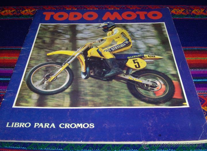 Coleccionismo deportivo: PANINI SOLO MOTO INCOMPLETO CON 119 DE 228 CROMOS. REGALO TODO MOTO INCOMPLETO CROMOS CANO 1983. - Foto 2 - 46998184