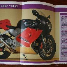 Coleccionismo deportivo: SUPER MOTOS 2 – ALBUM 116 FICHAS MODELOS Y GRANDES MOTOS – MOTOCICLISMO – CARACTERISTICAS TECNICAS. Lote 47049499