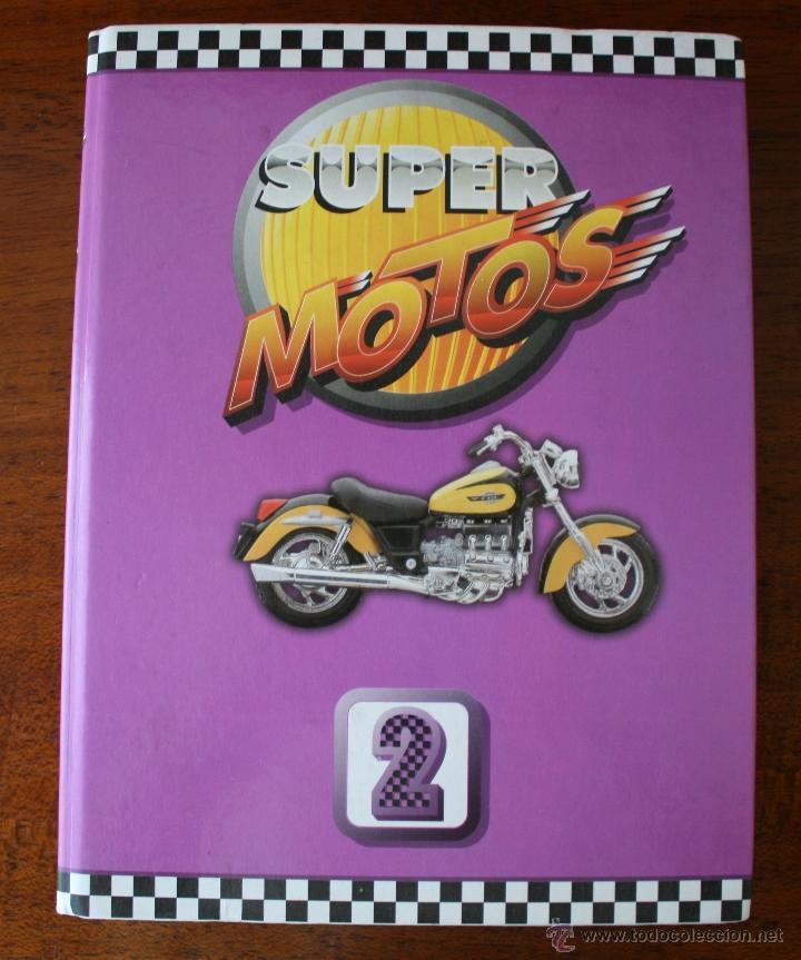 Coleccionismo deportivo: SUPER MOTOS 2 – ALBUM 116 FICHAS MODELOS Y GRANDES MOTOS – MOTOCICLISMO – CARACTERISTICAS TECNICAS - Foto 2 - 47049499