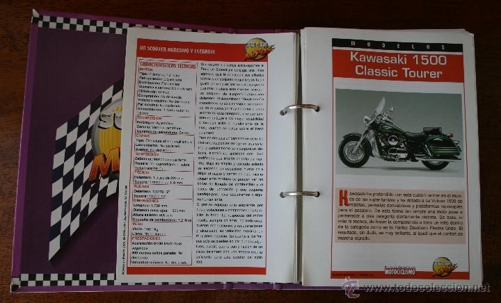 Coleccionismo deportivo: SUPER MOTOS 2 – ALBUM 116 FICHAS MODELOS Y GRANDES MOTOS – MOTOCICLISMO – CARACTERISTICAS TECNICAS - Foto 3 - 47049499
