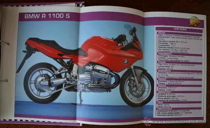 Coleccionismo deportivo: SUPER MOTOS 2 – ALBUM 116 FICHAS MODELOS Y GRANDES MOTOS – MOTOCICLISMO – CARACTERISTICAS TECNICAS - Foto 6 - 47049499