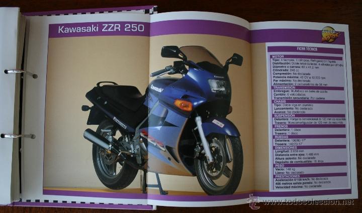 Coleccionismo deportivo: SUPER MOTOS 2 – ALBUM 116 FICHAS MODELOS Y GRANDES MOTOS – MOTOCICLISMO – CARACTERISTICAS TECNICAS - Foto 7 - 47049499