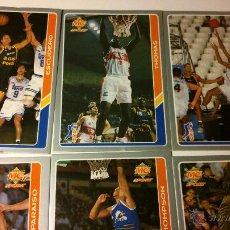 Coleccionismo deportivo: SET 10 CROMOS ACB 1995. Lote 47545477