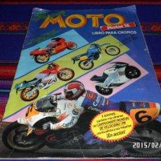 Coleccionismo deportivo: SUPER MOTO INCOMPLETO FALTAN 68 DE 212 CROMOS. ED. ESTE Y MOTOR 16 1990. BUEN ESTADO.. Lote 47652530