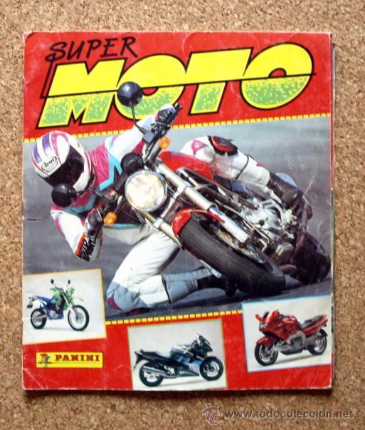 SUPER MOTO - ALBUM INCOMPLETO - PANINI - (Coleccionismo Deportivo - Álbumes otros Deportes)