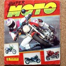Coleccionismo deportivo: SUPER MOTO - ALBUM INCOMPLETO - PANINI - . Lote 48528789