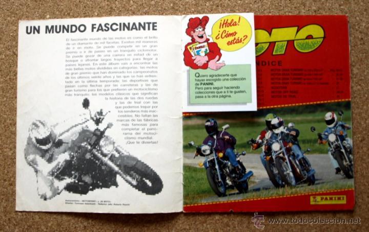 Coleccionismo deportivo: SUPER MOTO - ALBUM INCOMPLETO - PANINI - - Foto 3 - 48528789
