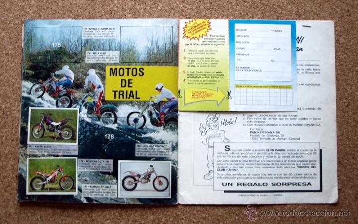Coleccionismo deportivo: SUPER MOTO - ALBUM INCOMPLETO - PANINI - - Foto 17 - 48528789