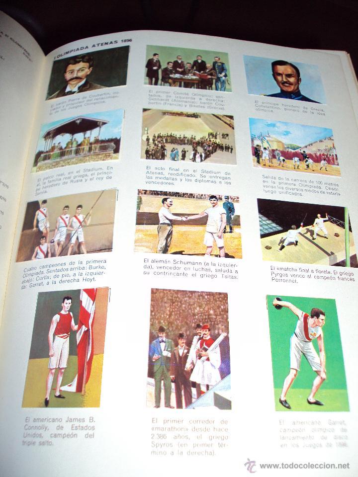 Coleccionismo deportivo: los juegos olimpicos de nestle, completo - Foto 3 - 49157408