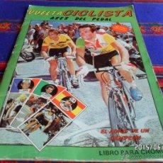 Coleccionismo deportivo: VUELTA CICLISTA ASES DEL PEDAL INCOMPLETO CON 45 CROMOS DE 128. J. MERCHANTE 1987. . Lote 49767415