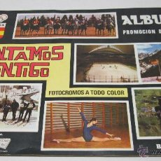 Coleccionismo deportivo: ALBUM CROMOS CONTAMOS CONTIGO COLED S.A. 1968. Lote 49776387
