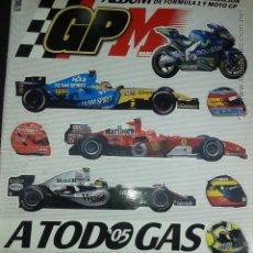 Coleccionismo deportivo: ÁLBUM A TODO GAS 05, FÓRMULA 1 Y MOTO GP. COMPLETO. Lote 50762008