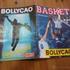 Coleccionismo deportivo: ALBUM DE CROMOS BASKET BOLLYCAO CON 44 CROMOS DE 149. Lote 206286312
