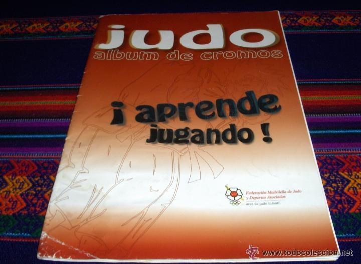 Coleccionismo deportivo: JUDO APRENDE JUGANDO Y CUADERNO TÉCNICO COMPLETO. FED. MADRILEÑA. RAROS. REGALO KARATE ED. ARA 1980. - Foto 2 - 42473225