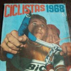 Coleccionismo deportivo: ALBUM DE CROMOS COMPLETO GRAFICAS LAIDA- CICLISTAS 1968-. Lote 51812548