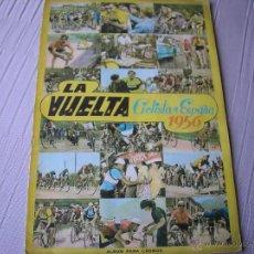 Coleccionismo deportivo: LA VUELTA CICLISTA A ESPAÑA 1956.- FHER . ALBUM DE CROMOS EN COLOR COMPLETO. Lote 51930965