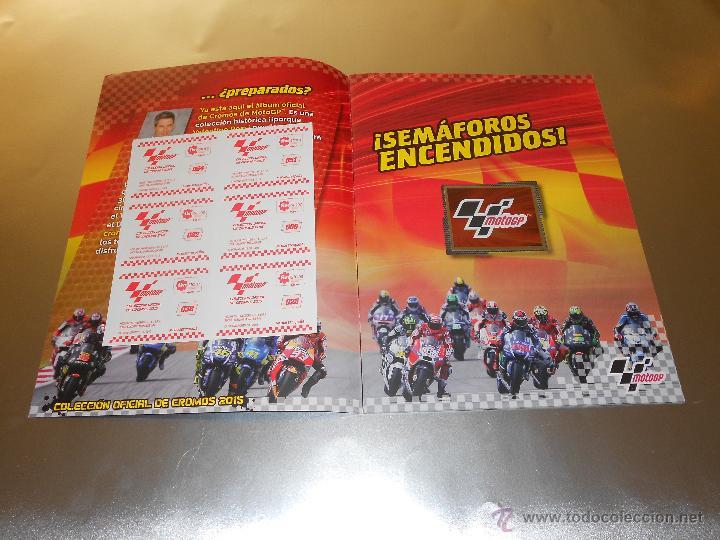Coleccionismo deportivo: COLECCION OFICIAL DE CROMOS 2015 ( MOTOGP ) - COMPLETO - MARQUEZ - ROSSI -LORENZO ... - MOTO GP - Foto 4 - 52158269