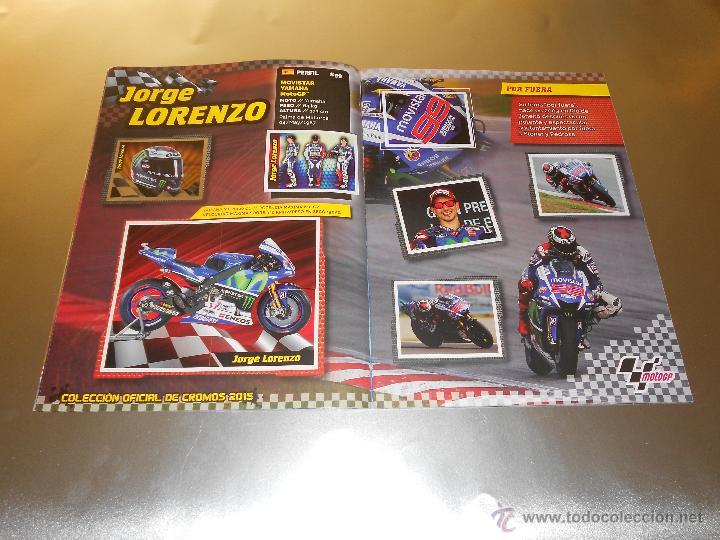 Coleccionismo deportivo: COLECCION OFICIAL DE CROMOS 2015 ( MOTOGP ) - COMPLETO - MARQUEZ - ROSSI -LORENZO ... - MOTO GP - Foto 7 - 52158269