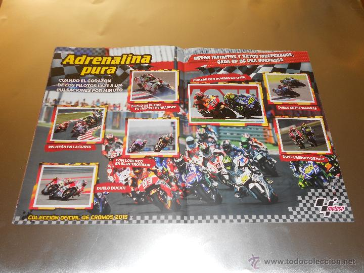 Coleccionismo deportivo: COLECCION OFICIAL DE CROMOS 2015 ( MOTOGP ) - COMPLETO - MARQUEZ - ROSSI -LORENZO ... - MOTO GP - Foto 10 - 52158269
