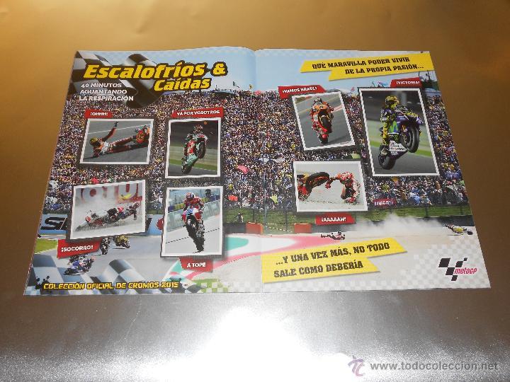 Coleccionismo deportivo: COLECCION OFICIAL DE CROMOS 2015 ( MOTOGP ) - COMPLETO - MARQUEZ - ROSSI -LORENZO ... - MOTO GP - Foto 11 - 52158269