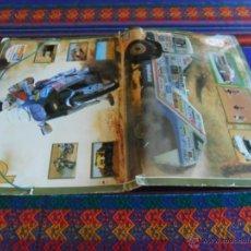 Coleccionismo deportivo: PARIS DAKAR 87 CARPETA TELE INDISCRETA COMPLETA COMPLETO 39 CROMOS. 9º RALLYE.. Lote 52169858