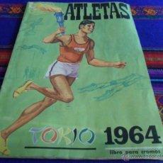 Coleccionismo deportivo: ATLETAS TOKIO 1964 INCOMPLETO FALTAN 7 CROMOS DE 120. DISGRA. JUEGOS OLÍMPICOS 64. RARO.. Lote 52980118