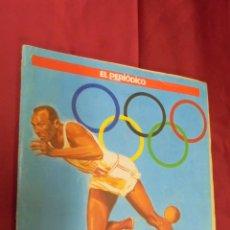 Coleccionismo deportivo: ALBUM DE CROMOS INCOMPLETO. HISTORIA DE LOS JUEGOS OLIMPICOS. CONTIENE 106 CROMOS. EL PERIODICO.. Lote 53359198