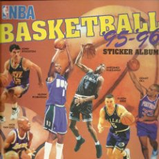 Coleccionismo deportivo: ALBUM NBA BASKETBALL 95/96 STICKER ALBUM CON169 CROMOS . Lote 54483564