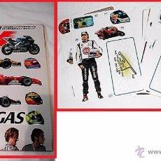 Coleccionismo deportivo: ALBUM A TODO GAS - GP - MARCA -- ÁLBUM CON TODA LA INFORMACIÓN DE FÓRMULA 1 Y MOTO GP. Lote 55014686