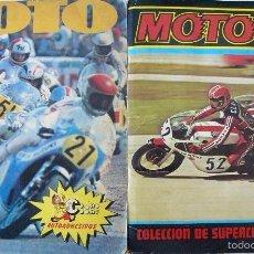 Coleccionismo deportivo: DOS ALBUMES MOTO 80 ALBUM ESTE MOTO SPORT FIGURAS PANINI . Lote 56958663