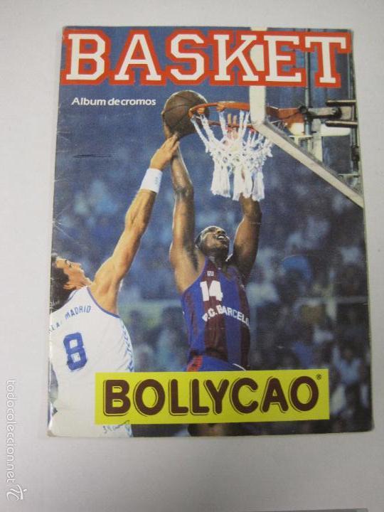 ALBUM BASKET BOLLYCAO - INCOMPLETO - VER FOTOS -(V-5684) (Coleccionismo Deportivo - Álbumes otros Deportes)