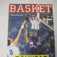 Coleccionismo deportivo: ALBUM BASKET BOLLYCAO - INCOMPLETO - VER FOTOS -(V-5684). Lote 56966364