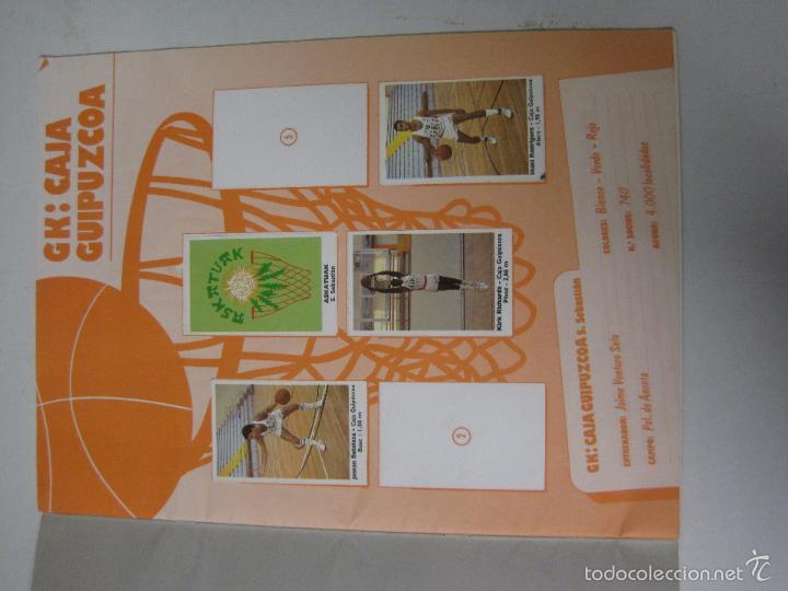 Coleccionismo deportivo: ALBUM BASKET BOLLYCAO - INCOMPLETO - VER FOTOS -(V-5684) - Foto 2 - 56966364