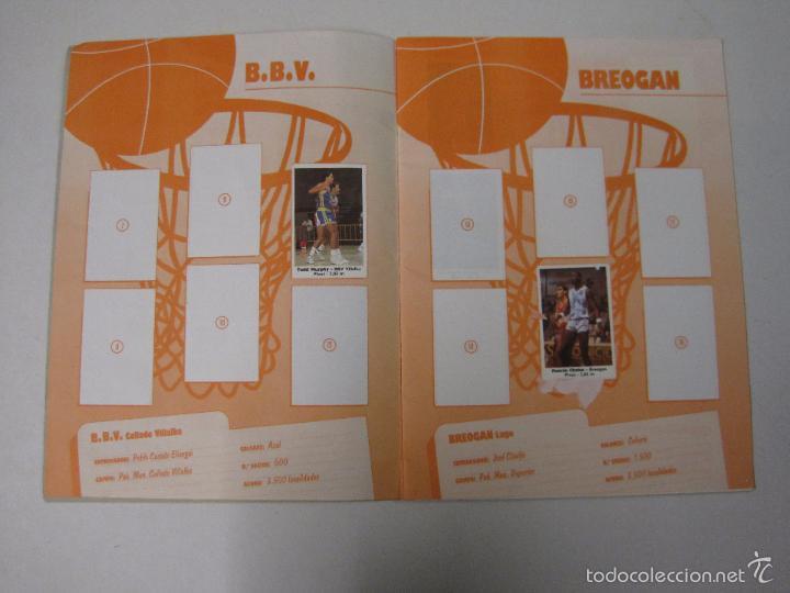 Coleccionismo deportivo: ALBUM BASKET BOLLYCAO - INCOMPLETO - VER FOTOS -(V-5684) - Foto 3 - 56966364