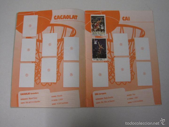 Coleccionismo deportivo: ALBUM BASKET BOLLYCAO - INCOMPLETO - VER FOTOS -(V-5684) - Foto 4 - 56966364