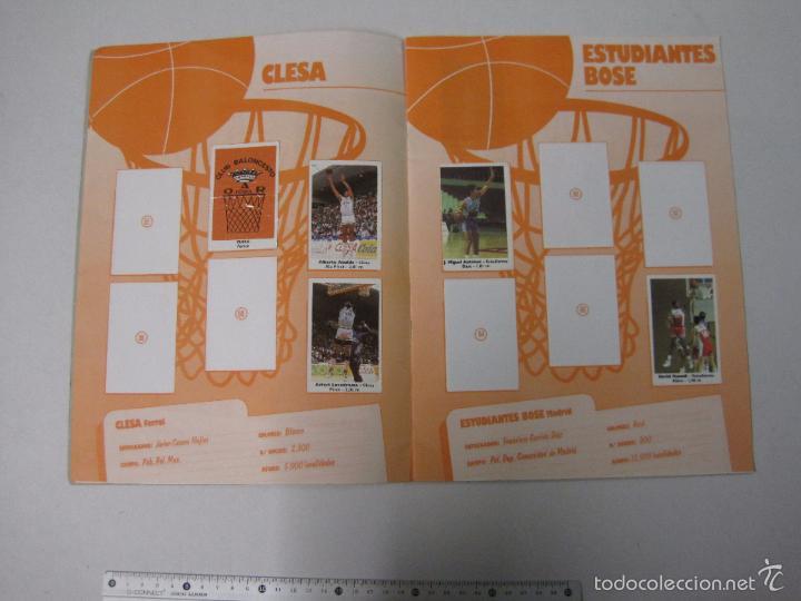 Coleccionismo deportivo: ALBUM BASKET BOLLYCAO - INCOMPLETO - VER FOTOS -(V-5684) - Foto 7 - 56966364