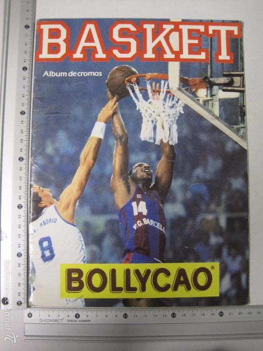 Coleccionismo deportivo: ALBUM BASKET BOLLYCAO - INCOMPLETO - VER FOTOS -(V-5684) - Foto 16 - 56966364