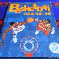 Coleccionismo deportivo: AMERICAN PRO BASKETBALL USA 94 95 COMPLETO SL ITALY NBA 1994 1995. DIFÍCIL. REGALO 89 BASKET PANINI.. Lote 57383820