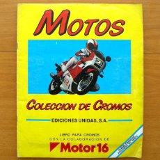 Coleccionismo deportivo: MOTOS - MOTOR 16 - 1987. Lote 58141958