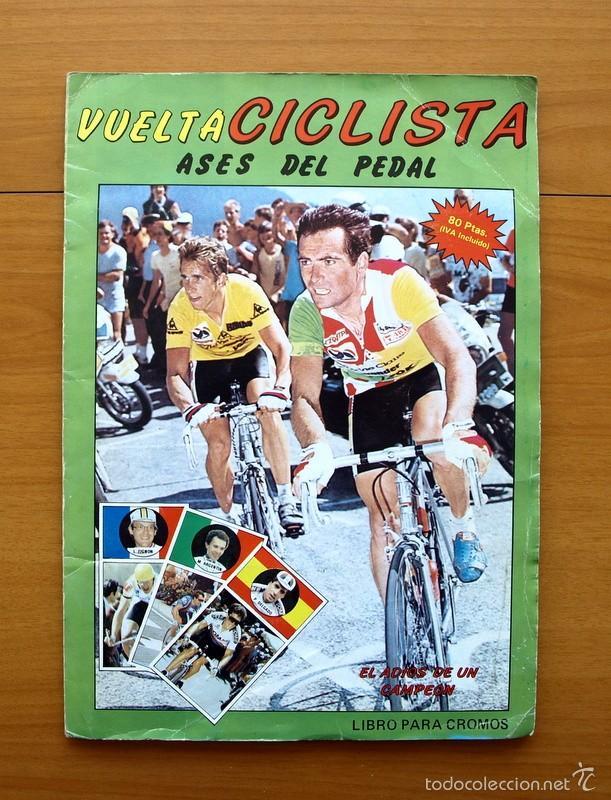 CICLISMO - VUELTA CICLISTA - ASES DEL PEDAL - EDITORIAL J. MERCHANTE 1987 - COMPLETO - VER FOTOS (Coleccionismo Deportivo - Álbumes otros Deportes)