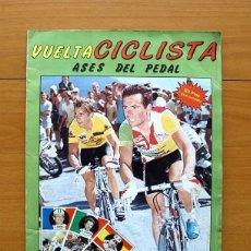 Coleccionismo deportivo: CICLISMO - VUELTA CICLISTA - ASES DEL PEDAL - EDITORIAL J. MERCHANTE 1987 - COMPLETO - VER FOTOS. Lote 59842848