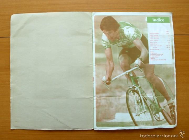 Coleccionismo deportivo: Ciclismo - Vuelta ciclista - Ases del pedal - Editorial J. Merchante 1987 - Completo - Ver fotos - Foto 2 - 59842848