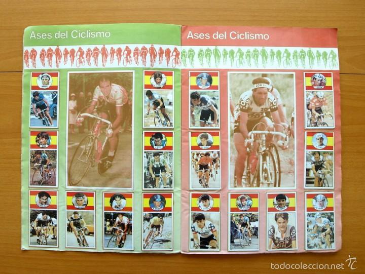 Coleccionismo deportivo: Ciclismo - Vuelta ciclista - Ases del pedal - Editorial J. Merchante 1987 - Completo - Ver fotos - Foto 3 - 59842848