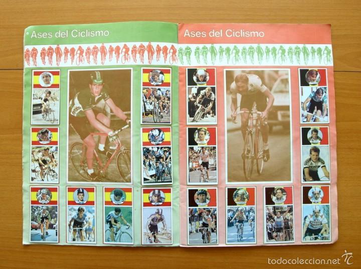 Coleccionismo deportivo: Ciclismo - Vuelta ciclista - Ases del pedal - Editorial J. Merchante 1987 - Completo - Ver fotos - Foto 4 - 59842848
