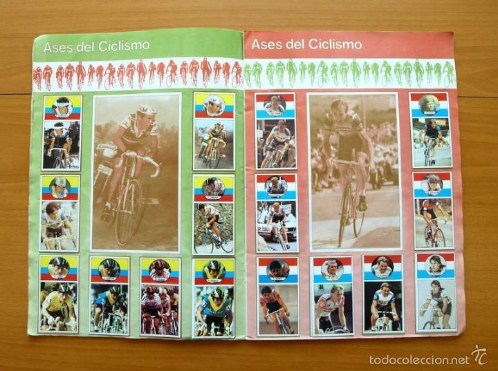 Coleccionismo deportivo: Ciclismo - Vuelta ciclista - Ases del pedal - Editorial J. Merchante 1987 - Completo - Ver fotos - Foto 5 - 59842848